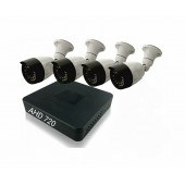 Комплект 4 уличные камеры и регистратор