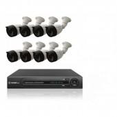 Комплект 8  уличных камер и регистратор