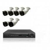 Комплект 6 уличных камер и регистратор