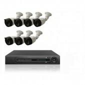 Комплект 7 уличных камер и регистратор